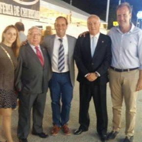 Cassá asiste a la inauguración de la Feria del distrito de Churriana