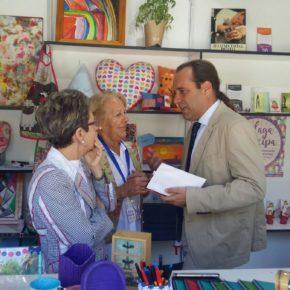 Cassá visita a las entidades participantes en la Semana del Voluntariado