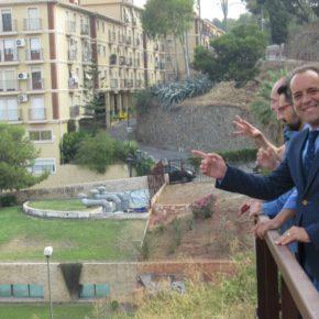 Abre al público el mirador de la Alcazaba, gracias a los acuerdos de Cs Málaga