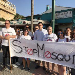 Cs apoya a la plataforma Stop Mosquitos y la lucha de Guadalmar, Sacaba y Parque Litoral