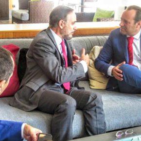 Reunión Cs-consejero de Fomento para avanzar en inversiones para Bailén-Miraflores ligadas al metro