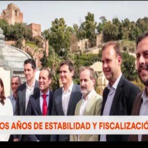 Ciudadanos lanza el vídeo que resume en tres minutos dos años de intensa acción política en Málaga