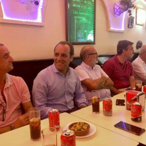 Éxito del Café ciudadano de Málaga Noroeste con Juan Cassá y Alejandro Carballo