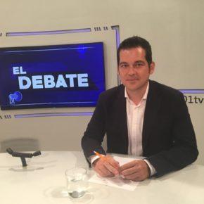 Carballo acude al debate de cierre de curso político en 101TV