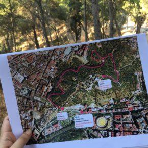 Un paseo por el entorno de Gibralfaro, la gran apuesta verde de Ciudadanos
