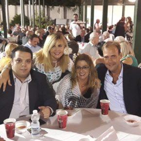 El grupo municipal asiste a la Fiesta de la Biznaga