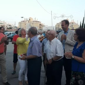 Cs acompaña a los vecinos en el estreno de las ferias de Teatinos y Campanillas