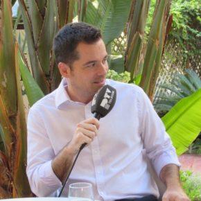 Carballo reitera en PTV la negativa de Cs a subir el recibo del agua en Málaga