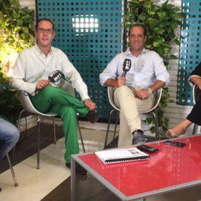 Cassá participa en la tertulia 'La Otra Feria' de PTV Málaga