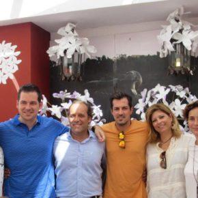 Ciudadanos Málaga disfruta de la feria y las tradiciones
