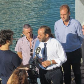 Cs propone crear un parque de empresas ligadas a la economía azul en el Puerto de Málaga
