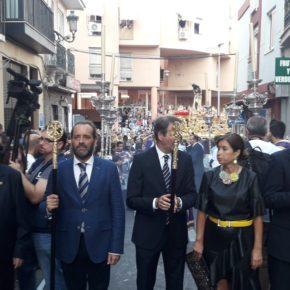 Cassá desfila en la procesión extraordinaria del Cristo de los Gitanos