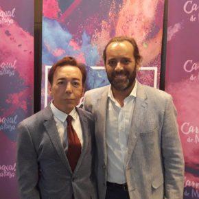 Cassá asiste a la presentación del Carnaval de Málaga 2018