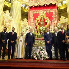 Ciudadanos, con la Virgen de la Victoria, Patrona de Málaga