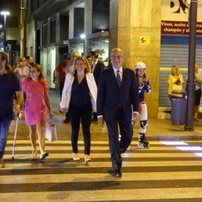 El primer paso de peatones inteligente, en servicio a propuesta de Ciudadanos