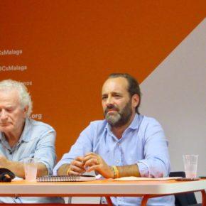 El grupo municipal se reúne con la Agrupación Este de Cs Málaga