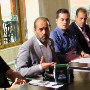 Cassá y Carballo acercan el trabajo del grupo municipal a la Agrupación Noroeste de Cs Málaga