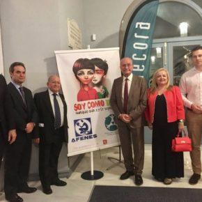 Carballo asiste a la Gala del 25 aniversario de Afenes en el Teatro Cervantes
