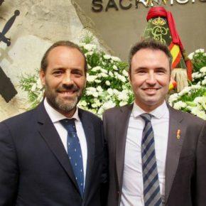 Cassá asiste a la celebración de la Virgen del Pilar, patrona de la Guardia Civil