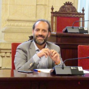 Aprobada la moción de Cs Málaga para acondicionar el espigón de la Térmica