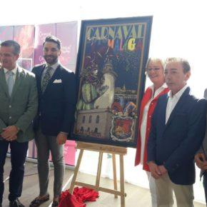 Cassá acude a la presentación del cartel del Carnaval de Málaga 2018