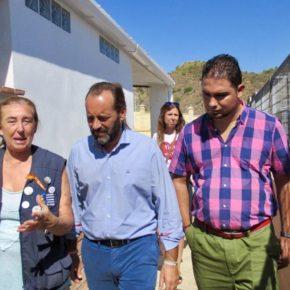 Cassá visita la Protectora de Animales de Málaga en su jornada de puertas abiertas