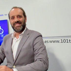 """Cassá en 101TV: """"Desde que Cs es llave se han bajado impuestos en Málaga"""""""