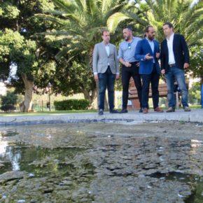 Aprobadas dos iniciativas de Cs para mejorar el mantenimiento de parques y estanques y la apertura de los parques caninos