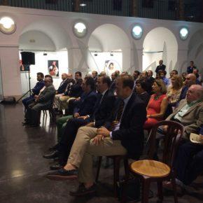Cs Málaga, en la presentación de nuevos ciriales de la Hermandad de Viñeros