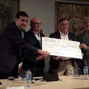 Cs Málaga, en el acto de entrega de recaudación de Estudiantes a la investigación del cáncer