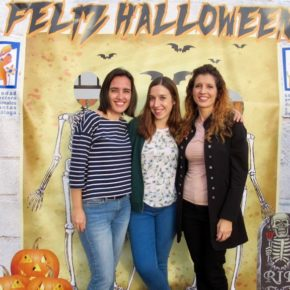Cs Málaga, en la verbena de Halloween a favor de la Protectora de Animales