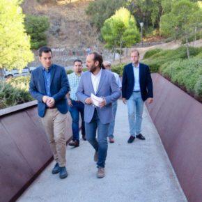 Cs destaca el valor añadido de la pasarela de la Alcazaba y pide señalización y más protección del acceso al Teatro Romano