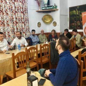 Café Ciudadano con los afiliados de la Agrupación Norte de Cs