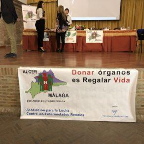 Carballo asiste al 40 aniversario de Alcer Málaga