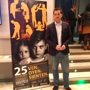 Carballo asiste a la Gala por el Día Internacional para la Eliminación de la Violencia contra la Mujer