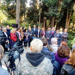 Cs Málaga, en el homenaje a las víctimas de violencia de género