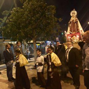 Cassá asiste a la procesión de Nuestra Señora del Carmen de Belén