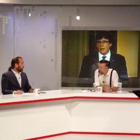 """Cassá en 101TV: """"Espero que las elecciones en Cataluña el 21-D pongan a los secesionistas en su lugar"""""""