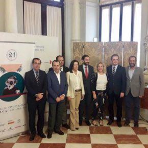 Cassá asiste a la presentación del cartel del 21 Festival de Málaga Cine en Español