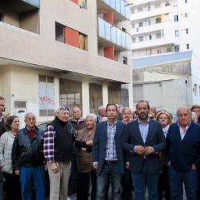 Ciudadanos pide el desalojo e intervención de Servicios Sociales en los edificios okupados de Juan XXIII