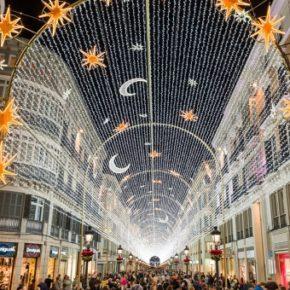 Luces de Navidad en los barrios