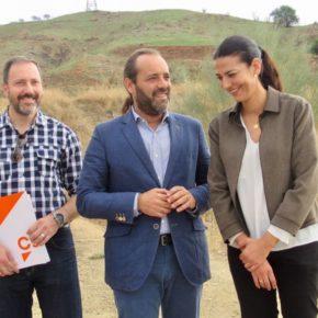 Ciudadanos pide un gran parque forestal y arqueológico en Campanillas