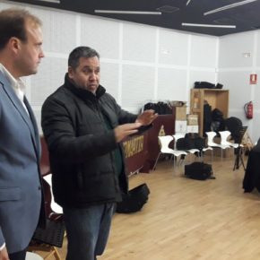 Cs Málaga, en los ensayos de la Agrupación de Bandas de Música de Semana Santa