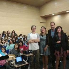 Cs Málaga, en el ensayo de la Coral de Canto de Niños de la Fundación Málaga