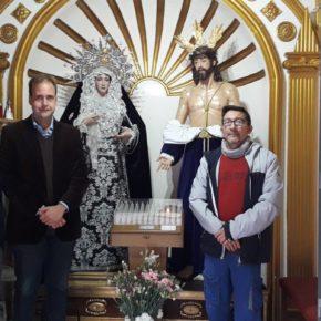 Cs visita la Hermandad de la Encarnación Málaga