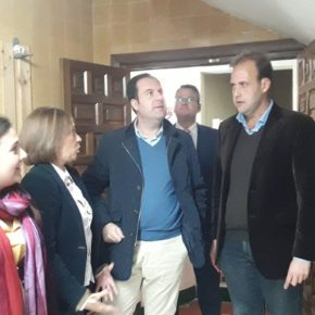 Cs Málaga visita la Hermandad de la Humildad