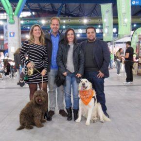 Cs Málaga, en la inauguración del Salón Mi Mascota