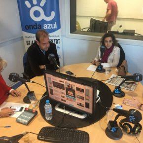 Vallejo participa en la tertulia de Onda Azul Radio