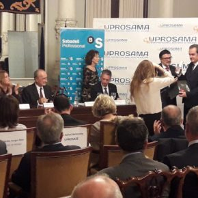 Cs acude a la entrega de premios de la Unión Sanitaria de Málaga
