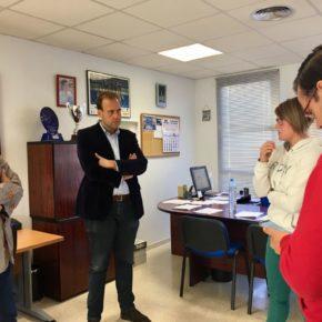 Cs Málaga visita a las federaciones deportivas afectadas por robos en calle Aristófanes